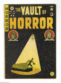 Golden Age (1938-1955):Horror, Vault of Horror #16 (EC, 1950) Condition: VG+. Johnny Craig cover.Craig, Graham Ingels, Jack Kamen, and Al Feldstein art. O...