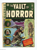 Golden Age (1938-1955):Horror, Vault of Horror #22 (EC, 1951) Condition: VG. Frankenstein cover byJohnny Craig. Frankenstein-themed story with Graham Inge...