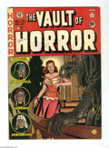 Golden Age (1938-1955):Horror, Vault of Horror #23 (EC, 1952) Condition: VG. Used in Parade ofPleasure. Johnny Craig cover. Jack Davis, Graham Ingels,...