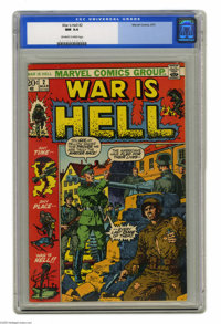 War Is Hell #2 (Marvel, 1973) CGC NM 9.4 Off-white to white pages. John Severin cover. Gene Colan and Syd Shores art. Ov...
