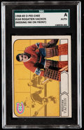 Hockey Cards:Singles (1960-1969), Rare 1968 O-Pee-Chee Rogatien Vachon #164 SGC Authentic - Missing Color. ...