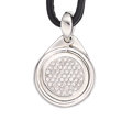 Estate Jewelry:Pendants and Lockets, Diamond, Turquoise, White Gold Pendant-Necklace, Tamara Comolli....