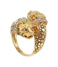 Estate Jewelry:Rings, Diamond, Ruby, Gold Ring, Lalaounis . ...