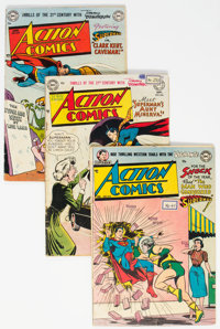 Action Comics Group of 4 (DC, 1951-53) Condition: Average FN+.... (Total: 4 )