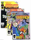 Modern Age (1980-Present):Superhero, Web of Spider-Man Group (Marvel, 1984-96) Condition: Average NM+.This small box lot includes Web of Spider-Man #18, 19,... (Total:106 Comic Books Item)