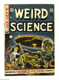 Golden Age (1938-1955):Science Fiction, Weird Science #16 (EC, 1952) Condition: VG. Wally Wood cover. Wood,Al Williamson, Jack Kamen, and Joe Orlando art. Overstre...