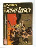 Golden Age (1938-1955):Science Fiction, Weird Science-Fantasy #29 (EC, 1955) Condition: GD/VG. FrankFrazetta cover. Wally Wood, Marie Severin, Al Williamson, Reed ...