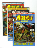 Bronze Age (1970-1979):Horror, Werewolf by Night Group (Marvel, 1972-73) Condition: Average VF/NM.This group includes #2, 3, 4, 6, 8, 9, and 10. Artists i... (Total:7 Comic Books Item)