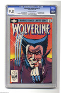 Modern Age (1980-Present):Superhero, Wolverine (limited series) #1 (Marvel, 1982) CGC NM/MT 9.8Off-white to white pages. The first solo Wolverine comic. FrankM...