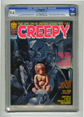 Bronze Age (1970-1979):Horror, Creepy #77 (Warren, 1976) CGC NM+ 9.6 Off-white to white pages.Christmas issue. Manuel Sanjulian cover art. Interior artist...