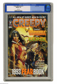 Creepy 1993 Fearbook #1 (Harris Publications, 1993) CGC NM/MT 9.8 White pages. Louis La Chance and Art Adams art. Overst...