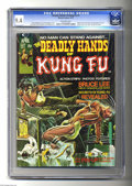 Bronze Age (1970-1979):Miscellaneous, The Deadly Hands of Kung Fu #1 (Marvel, 1974) CGC NM 9.4 Off-whitepages. Bruce Lee biography & pin-up. Origin of Sons of th...
