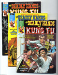 Magazines:Miscellaneous, The Deadly Hands of Kung Fu Group (Marvel, 1974-77) Condition:Average NM-. Eleven-issue lot includes #3 Neal Adams painted ...(Total: 11 items Item)