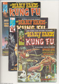 Magazines:Miscellaneous, The Deadly Hands of Kung Fu Group (Marvel, 1974-75) Condition:Average VF+. This group consists of eight magazines: #1 (orig...(Total: 8 items Item)