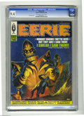 Silver Age (1956-1969):Horror, Eerie #14 (Warren, 1968) CGC NM 9.4 Off-white to white pages. VicPrezio cover art. Overstreet 2004 NM- 9.2 value = $32. CGC...
