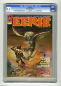 Bronze Age (1970-1979):Horror, Eerie #34 (Warren, 1971) CGC NM+ 9.6 Off-white to white pages.Boris Vallejo cover art. Tom Sutton frontispiece. Pat Broderi...