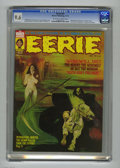 Bronze Age (1970-1979):Horror, Eerie #52 (Warren, 1973) CGC NM+ 9.6 Off-white to white pages.First appearance of Hunter. Manuel Sanjulian cover art. Esteb...