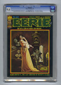 Bronze Age (1970-1979):Horror, Eerie #71 (Warren, 1976) CGC NM+ 9.6 Off-white to white pages.First appearance of the Goblin. Manuel Sanjulian cover art. B...