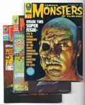 Silver Age (1956-1969):Horror, Famous Monsters of Filmland Group (Warren, 1969-70) Condition:Average VF. Three-issue lot includes #53 (Lon Chaney and Will...(Total: 3 Comic Books Item)