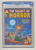 Bronze Age (1970-1979):Horror, The Haunt of Horror #1 Massachusetts pedigree (Curtis, 1974) CGCNM- 9.2 White pages. Bob Larkin cover. Alfredo Alcala front...