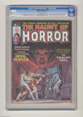 Bronze Age (1970-1979):Horror, The Haunt of Horror #2 (Curtis, 1974) CGC VF+ 8.5 Off-white towhite pages. Origin and first appearance of Gabriel the Devil...