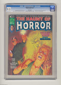 Bronze Age (1970-1979):Horror, The Haunt of Horror #4 (Curtis, 1974) CGC NM- 9.2 White pages.Satana appearance. Bob Larkin cover. Neal Adams and Syd Shore...