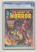 Bronze Age (1970-1979):Horror, The Haunt of Horror #5 (Curtis, 1975) CGC VF/NM 9.0 White pages.Dick Giordano cover. Pablo Marcus frontispiece. George Evan...