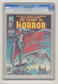 Bronze Age (1970-1979):Horror, The Haunt of Horror #12 (Curtis, 1977) CGC NM 9.4 Off-white towhite pages. Dracula appearance. Earl Norem cover. John Busce...