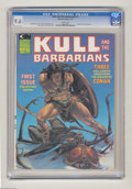 Magazines:Miscellaneous, Kull and the Barbarians (magazine) #1 (Marvel, 1975) CGC NM+ 9.6White pages. Michael Whelan cover. John Severin frontispiec...