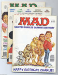 Magazines:Humor, Mad Group (EC, 1975-91) Condition: Average FN/VF. Includes issues#238-240, 242, 250, 260, 300; plus the following special i...(Total: 12 items Item)
