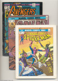 Books:Superhero, Marvel Comics Index Group (G & T Enterprises, 1975-78)Condition: Average FN. This group includes #1 (Spider-Man), #2(Conan... (Total: 7 items Item)