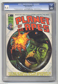Magazines:Science-Fiction, Planet of the Apes #12 (Marvel, 1975) CGC NM 9.4 Off-white to whitepages. Bill Blake (Cornelius) and Paula Crist (Dr. Zira)...