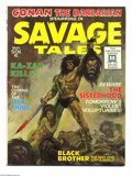 Bronze Age (1970-1979):Horror, Savage Tales #1 (Marvel, 1971) Condition: FN/VF. First appearanceof the Man-Thing by Gray Morrow. Conan story drawn by Barr...