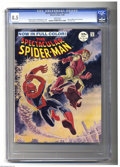 Silver Age (1956-1969):Superhero, Spectacular Spider-Man #2 (Marvel, 1968) CGC VF+ 8.5 White pages. Here's a copy of the short lived magazine-sized, full colo...