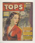 Golden Age (1938-1955):Adventure, Tops Group of #1 and 2 (Lev Gleason, 1949). This lot features two issues of the rare, large format Golden Age comic geared f...