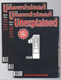 Magazines:Miscellaneous, The Unexplained Group (Marshall Cavendish Partworks, 1981)Condition: Average VF/NM. British magazine about the paranormal.... (Total: 10 items Item)