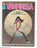 Magazines:Horror, Vampirella #1 (Warren, 1969) Condition: VG. Origin and first appearance of Vampirella. Forrest J. Ackerman story. Frank Fraz...