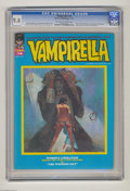 Bronze Age (1970-1979):Horror, Vampirella #14 (Warren, 1971) CGC NM 9.4 Off-white to white pages.Doug Moench biography. Tom Sutton frontispiece. Manuel Sa...