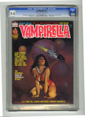 Bronze Age (1970-1979):Horror, Vampirella #46 (Warren, 1975) CGC NM 9.4 Off-white to white pages.Ken Kelly cover art. Eight page color story with art by Z...