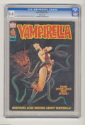 Magazines:Horror, Vampirella #62 (Warren, 1977) CGC NM 9.4 Off-white pages. Enrich cover. Carmine Infantino, Jose Gonzales, Esteban Maroto, an...