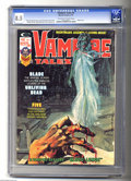 Bronze Age (1970-1979):Horror, Vampire Tales #9 (Curtis, 1975) CGC VF+ 8.5 Off-white to whitepages. Blade solo story. Art by Tony DeZuniga, Russ Heath, Al...