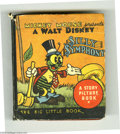 Platinum Age (1897-1937):Miscellaneous, Big Little Book 756 Silly Symphony (Whitman, 1934) Condition: GD.The complete title is Mickey Mouse Presents A Walt Disne...