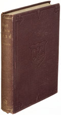 Books:Mystery & Detective Fiction, Thomas Bailey Aldrich. Out of His Head. New York: 1862. First edition, with a signed letter laid in....