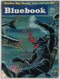 """Books:Mystery & Detective Fiction, Ian Fleming. """"Live and Let Die"""" [appearing in: Bluebook Magazine, Volume 99, Number 1]. New York: May, 1954. First U..."""