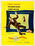 Movie Posters:Hitchcock, North by Northwest (MGM, 1959). Fine- on Linen. Po...
