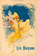 Movie Posters:Miscellaneous, Vin Mariani (1895). Very Fine- on Linen. Advertisi...