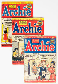 Archie Comics Group of 9 (Archie, 1951-53) Condition: Average GD/VG.... (Total: 9 )