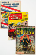 Golden Age (1938-1955):Miscellaneous, Golden Age Comics Group of 4 (Various Publishers, 1941-55).... (Total: 4 Comic Books)
