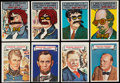 """Non-Sport Cards:Lots, 1967 Topps """"Who Am I?"""" Collection (63)...."""
