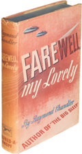 Books:Mystery & Detective Fiction, Raymond Chandler. Farewell, My Lovely. New York: Alfred A.Knopf, 1940. First edition, assoc...